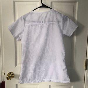 Tops - XS White Scrub Top